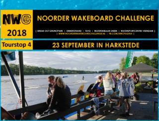 Tourstop 4 van de Noorder Wakeboard Challenge 2018 - NWC 2018